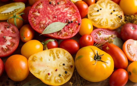 California Heirloom Tomatoes